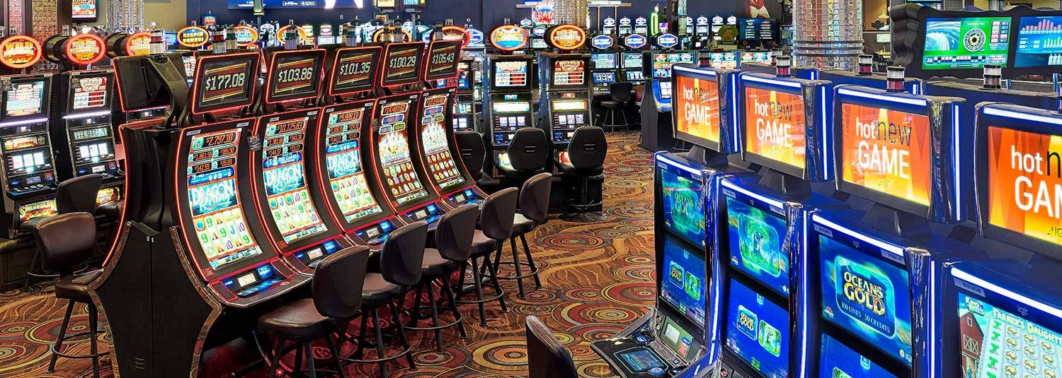 Slot Machines on the Southland Casino Racing Floor