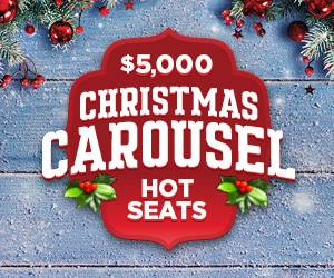 Christmas Carousel Hot Seats