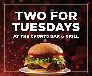 Two For Tuesdays at Sports Bar & Grill